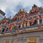リトルインディアのヒンズー教寺院