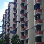HDB名物の洗濯物|シンガポール留学支援センター