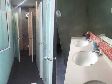 共同トイレ・洗面台