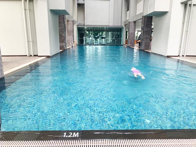 Vホテルラベンダー プール